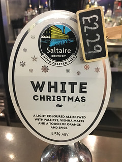 Saltaire, White Christmas, England