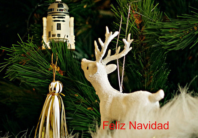 Feliz Navidad a todos los amigos de Flickr-Merry Christmas to all the friends of Flick