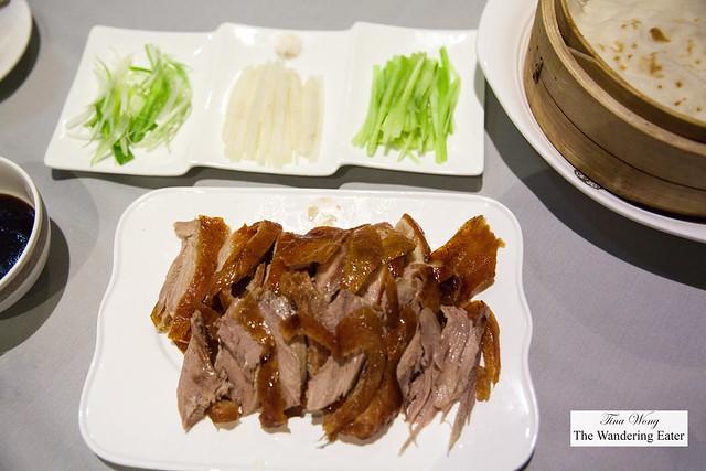 Half Peking Duck spread