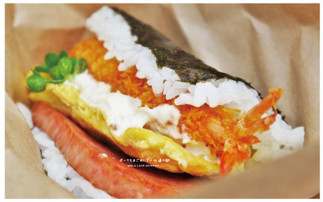沖繩炸蝦豬肉蛋飯糰TIMES租車許田休息站-8