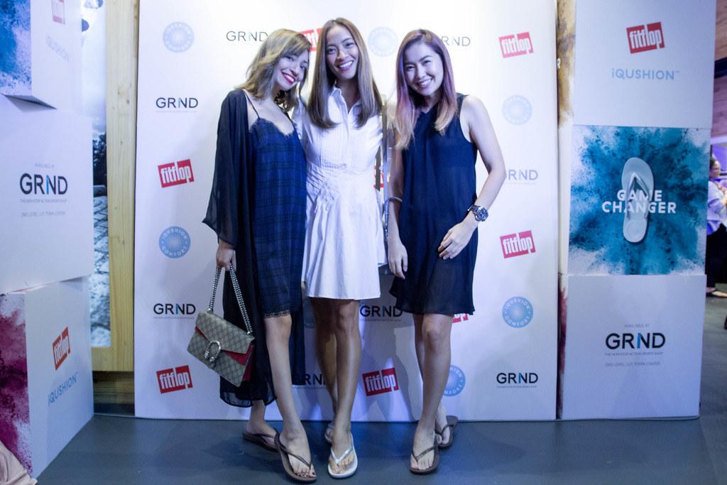 Alyssa Lapid, Jackie Go and Angela Nepomuceno