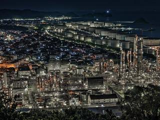 東燃ゼネラル和歌山工場夜景