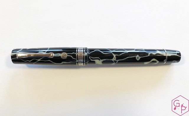 Review @ASCPens Bologna Wild Dark Side Fountain Pen - Magic Flex 6