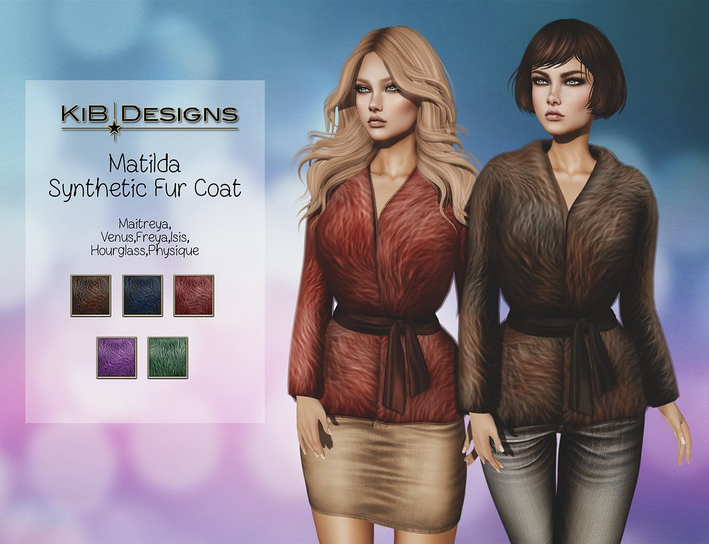 KiB Designs – Matilda Synthetic Fur Coat @The Project Se7en