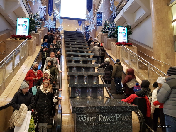 Water Tower Place lobby