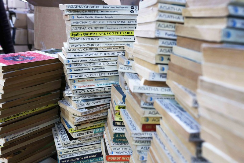 City Library - Agatha Christie's Old Paperback Stacks, Mukta Book Agency, Daryaganj