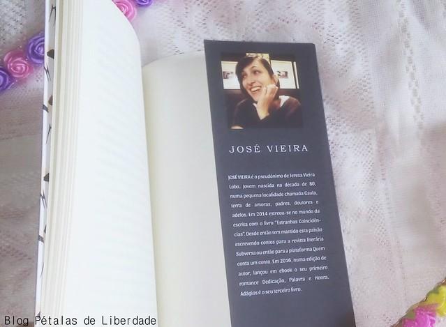 """Resenha (e sorteio): livro """"Adágios"""", José Vieira"""