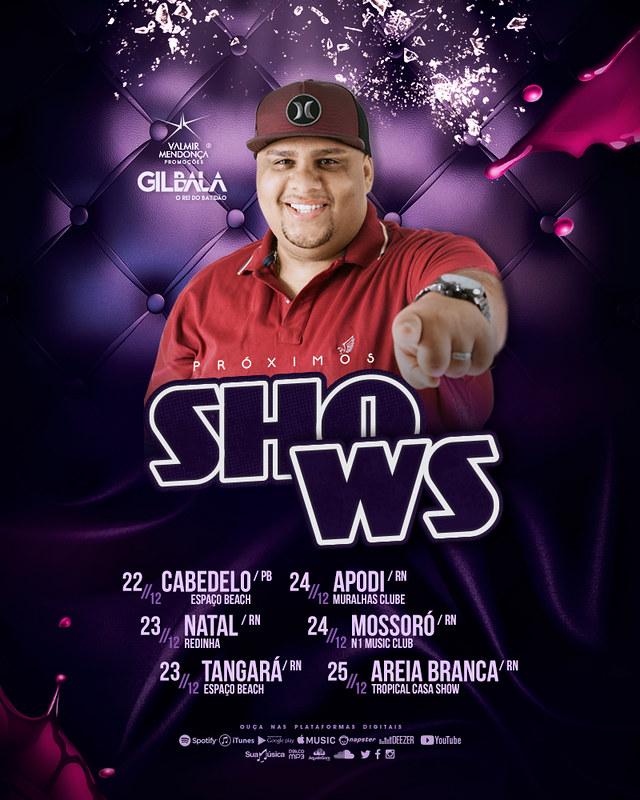 Agenda Semanal - Gil Bala - Dez. 2017 - Semana 04