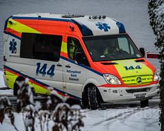 Rettungsdienst Küssnacht Ambulance, Weggis LU, Switzerland