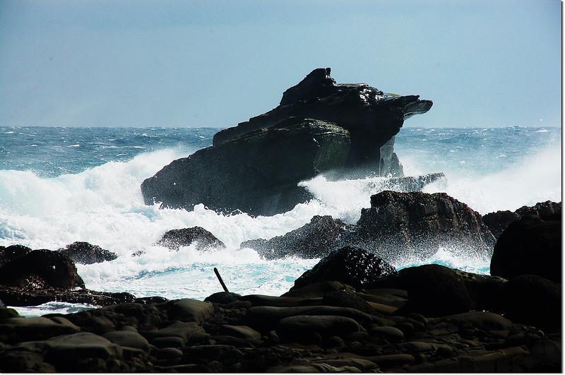海蝕平台青蛙石 2