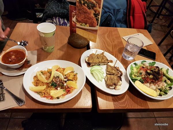 Natives Food vegan dinner