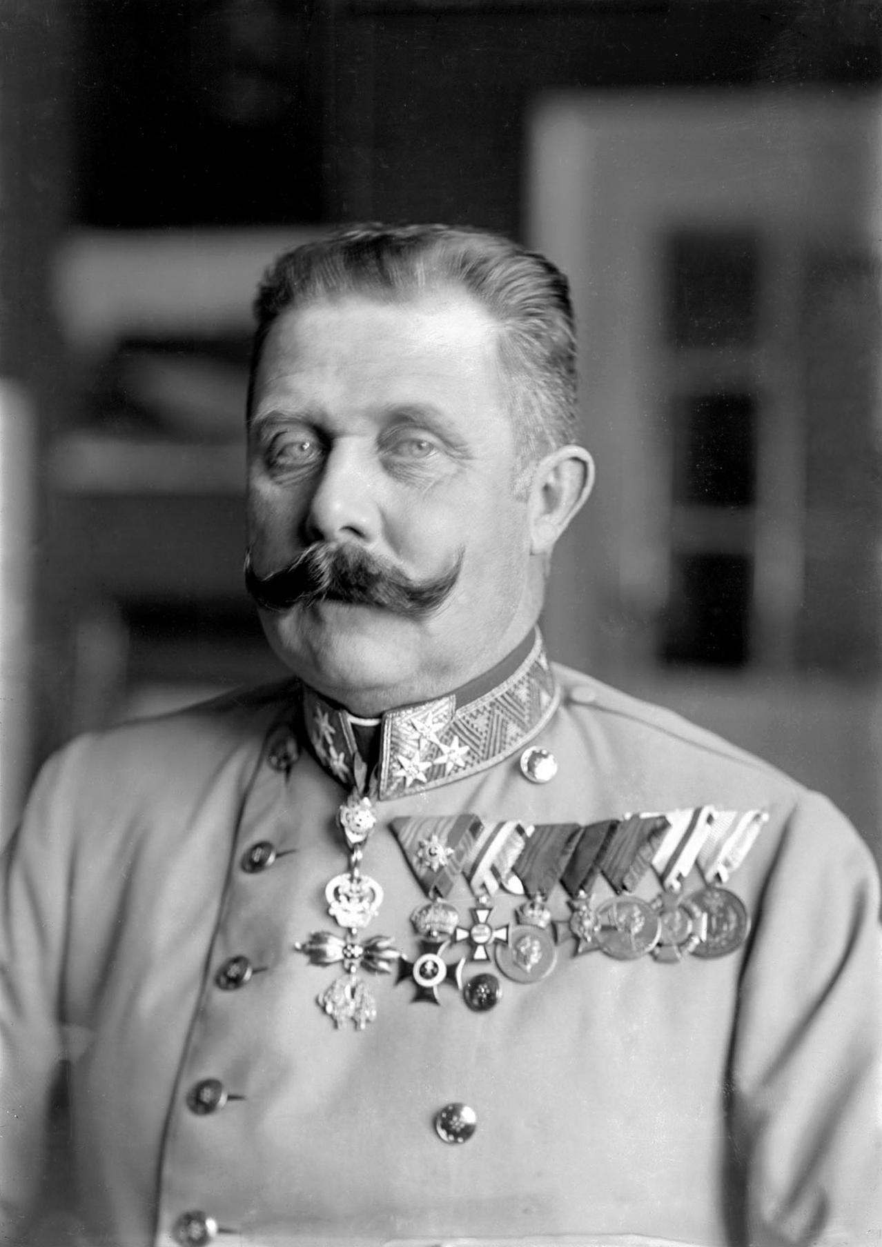 Ferdinand Schmutzer - Franz Ferdinand von Österreich-Este, in 1914