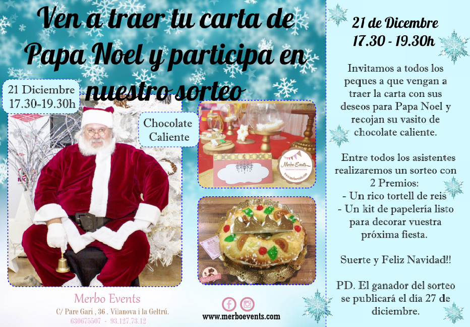 papanoel MErbo Events Navidad Merbo Events