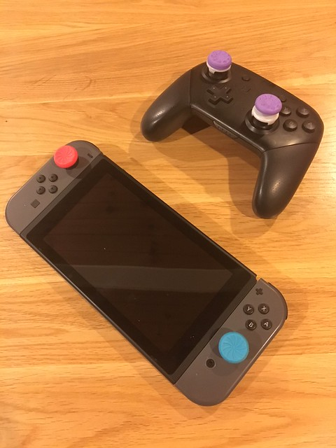 콘트롤 플랭크 Nintendo Switch Addons