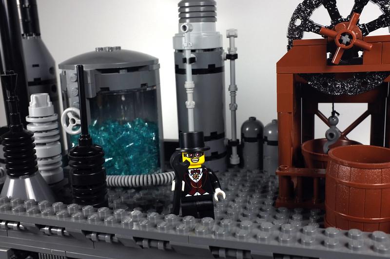lego minifigures steampunk