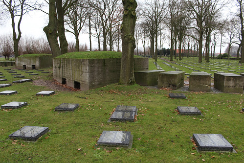 Langemark German War Cemetery - Langemark-Poelkapelle, Belgium, Friday 29th December 2017 | by CDay86