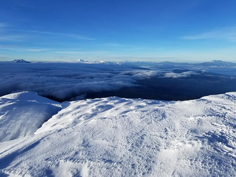 Cayambe • View from Summit