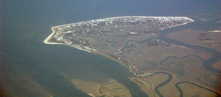 Barrier island (Tybee Island, Georgia, USA)