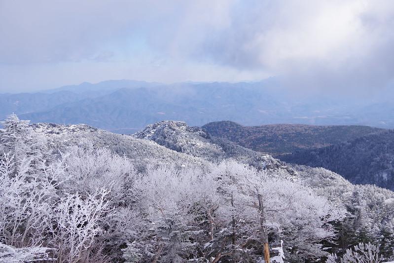2017年12月23日 北横岳