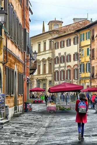 Italy - Tuscany - Walking in Pisa