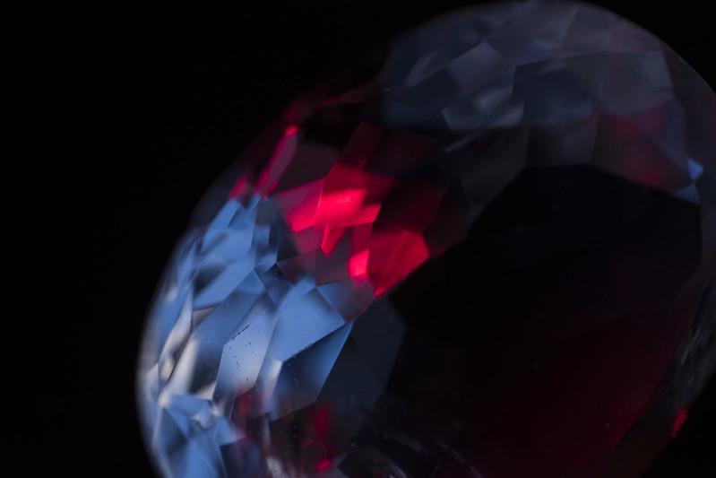 Gemstone with Laser.