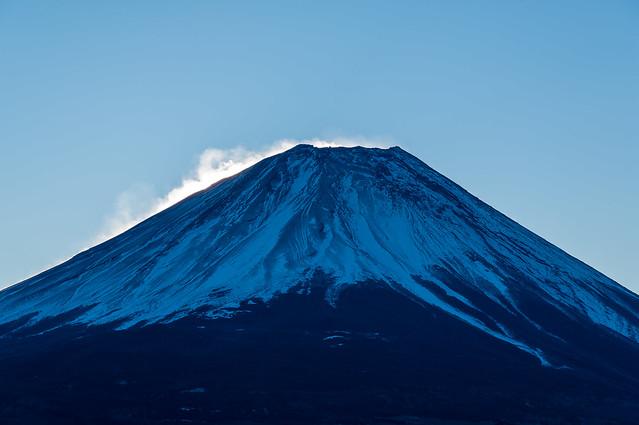 富士山山頂付近@東屋手前