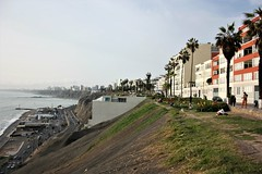 View from the cliffs of Lima, Pera