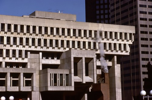 Boston City Hall - 1985