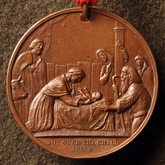 1880 Willaim Key Nativity medal1