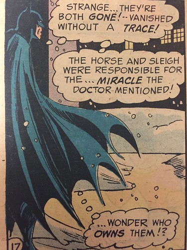 """Silent Night, Deadly Night"", DC Comics 1971"