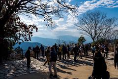 高尾山の展望台