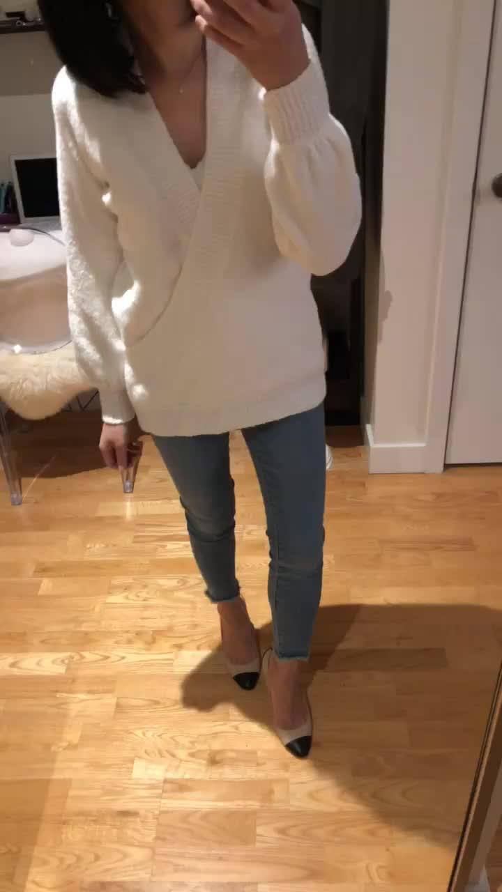 LOFT Wrap Tunic Sweater, size XXSP