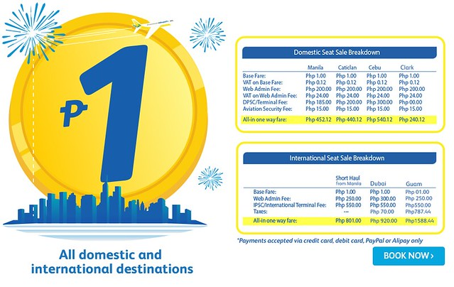 Cebu Pacific Air Piso Sale December 2017
