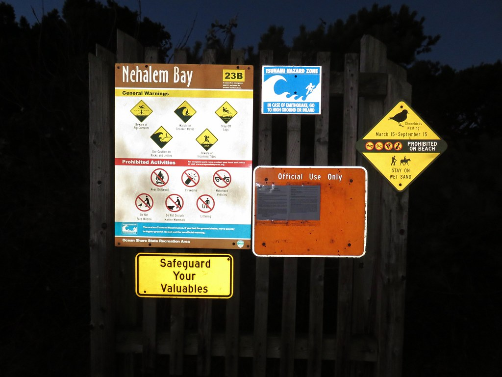 Nehalem Bay Trailhead