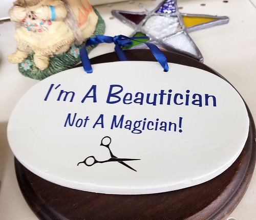 beautician not magician