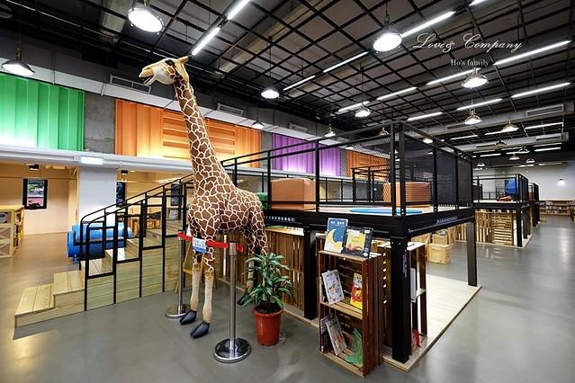 【台北親子免費景點】新北市立圖書館江子翠分館兒童室7