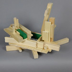 Phillip Mann; Pluon B; Item 124 - in SITu: Art Chair Auction