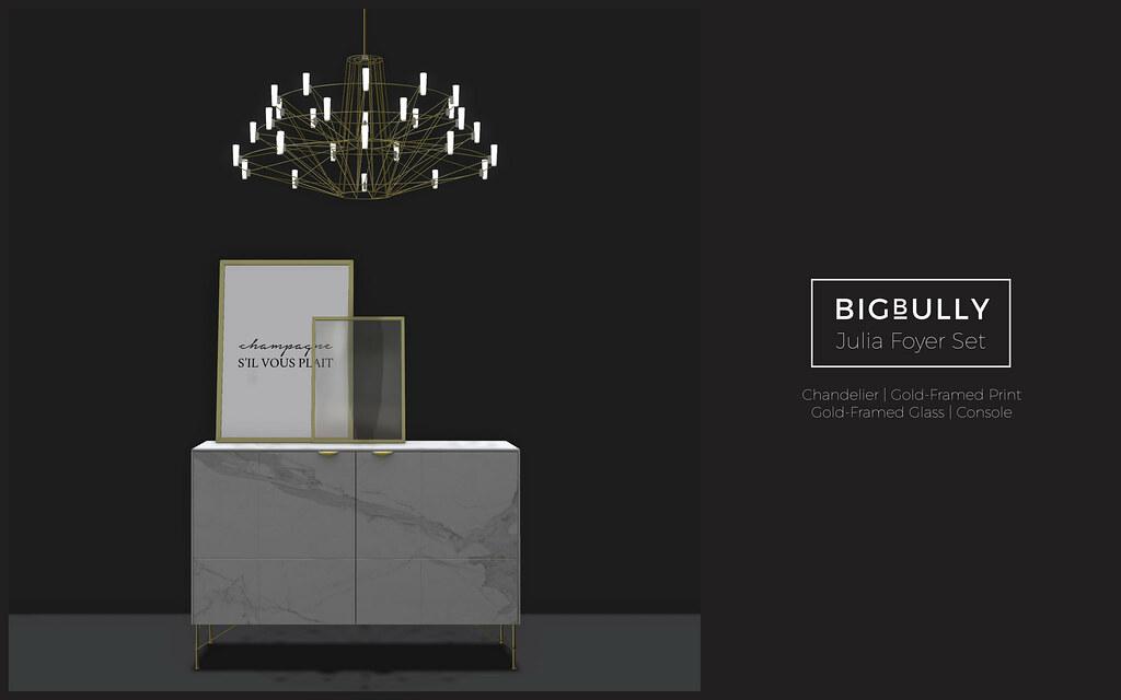 BIGBULLY Julia Foyer Set – Deco(c)rate