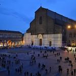 Bologna, Piazza Maggiore da una finestra di Palazzo d'Accursio