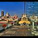 Puebla, Mexico as seen from the Amparo Museum por Sam Antonio Photography
