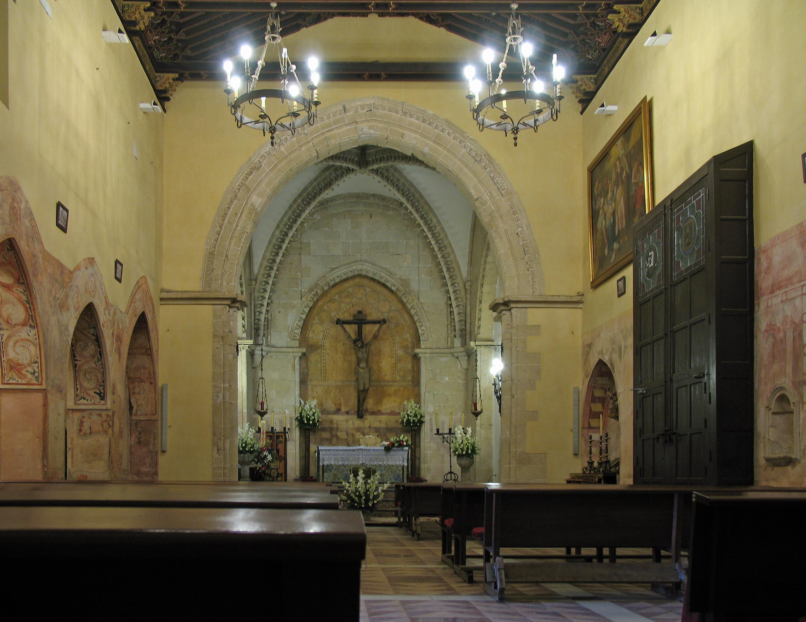 The church, La Rábida . Photo taken on April 12, 2007.
