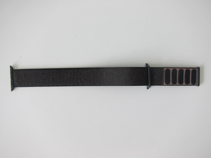 Apple Watch 42mm Black Sport Loop - Back