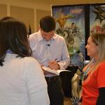 Texas A&M International University Representatives with Paul - Laredo, Texas
