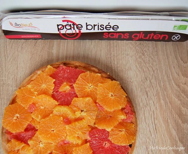 tarte aux agrumes sans gluten