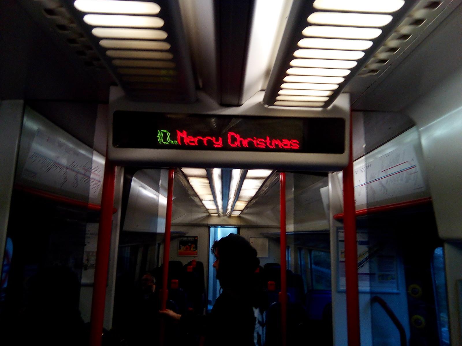 Merry Christmas By Chiltern Railways