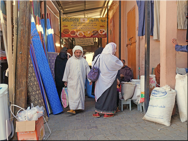 Tafraoute - marketday