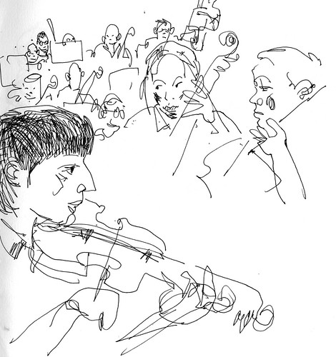 Sketchbook #110: School Orchestra