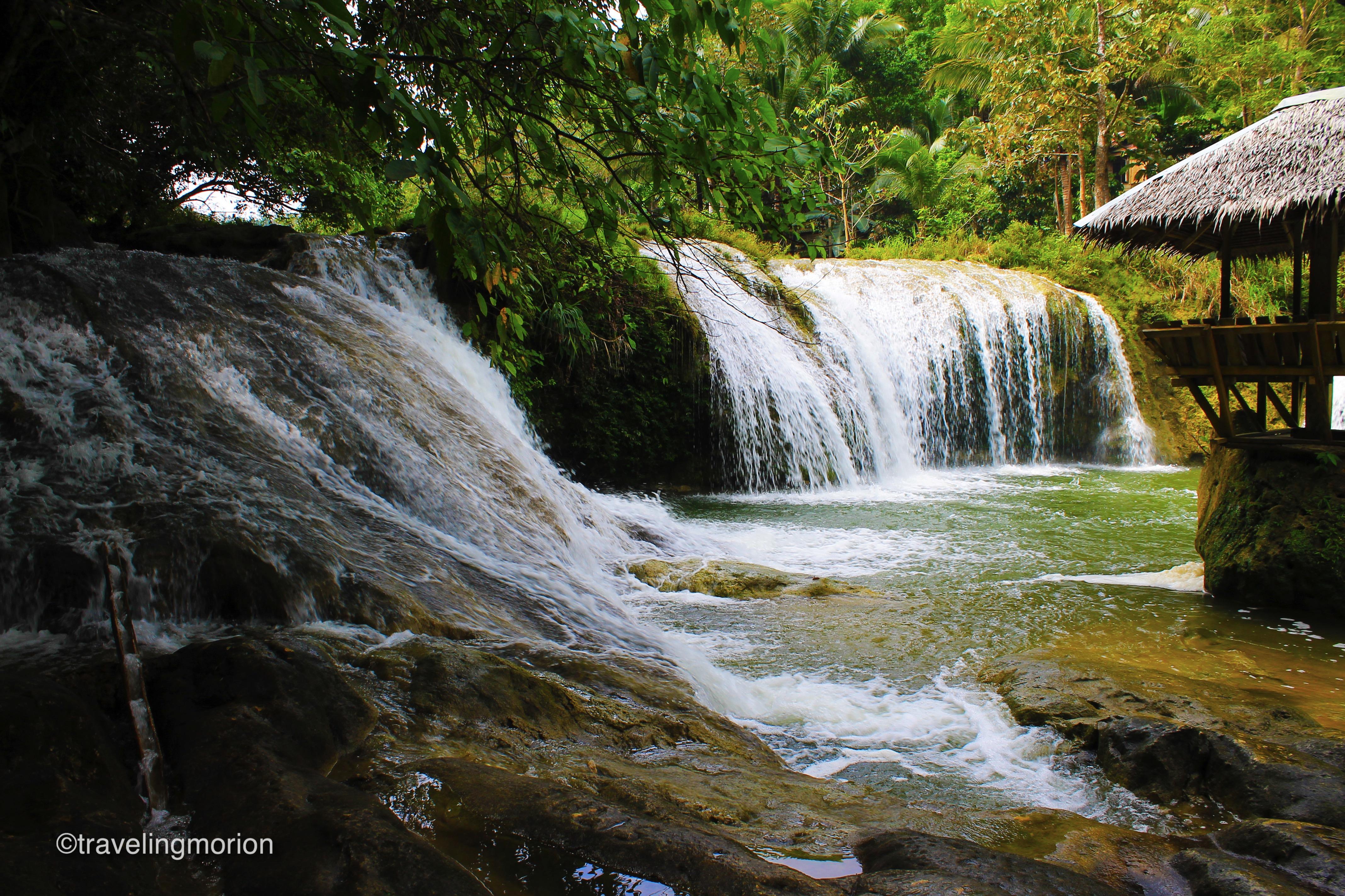 Pangas Falls in Bilar, Bohol