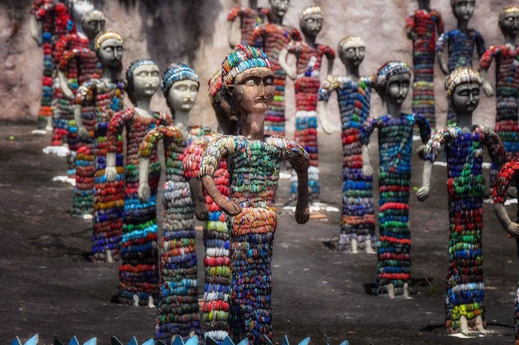 Nek Chand Sculptures, India