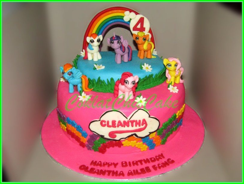 Cake My Little Pony CLEANTHA 22cm